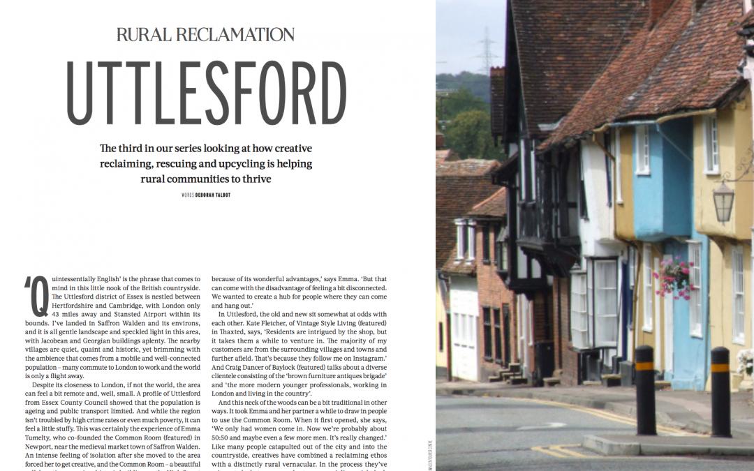 Rural Reclamation: Uttlesford (Reclaim Magazine).