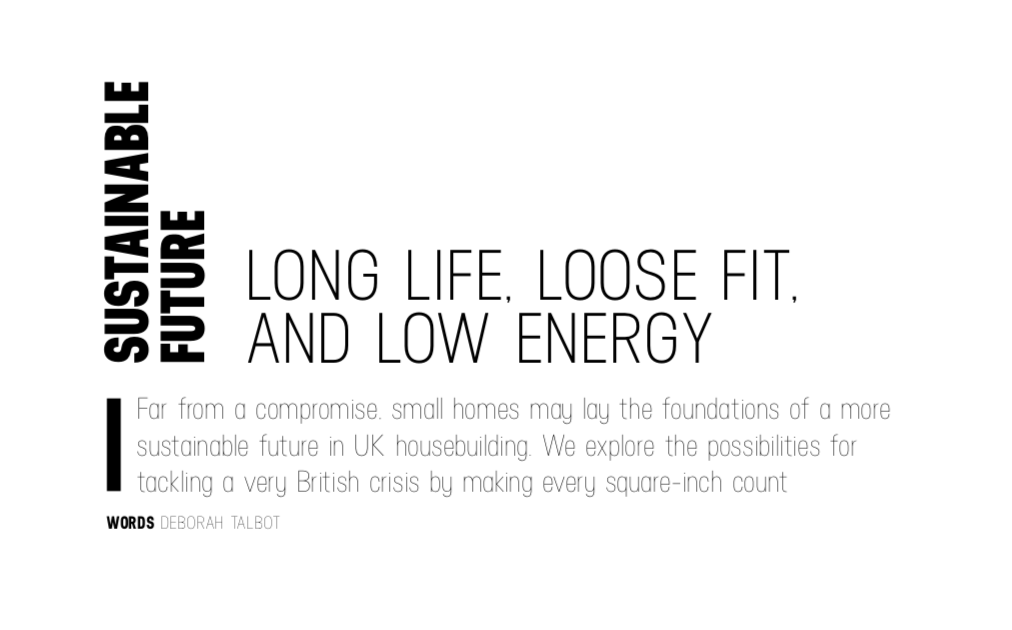Long life, loose fit, and low energy (Design Exchange)